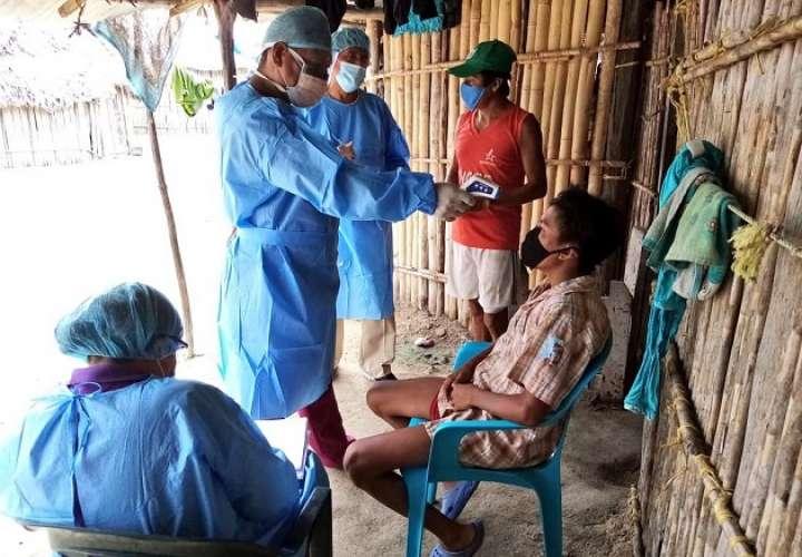 Caimitillo con cerco sanitario y exigen construcción de centro de salud