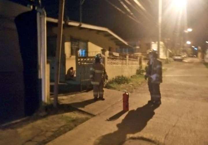 Fuego en dos casas en San Miguelito y Betania