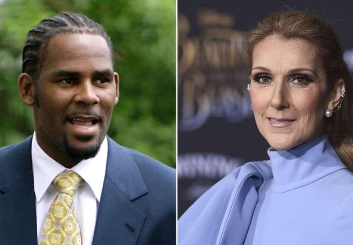 Celine Dion elimina toda colaboración con R. Kelly por las denuncias de abuso