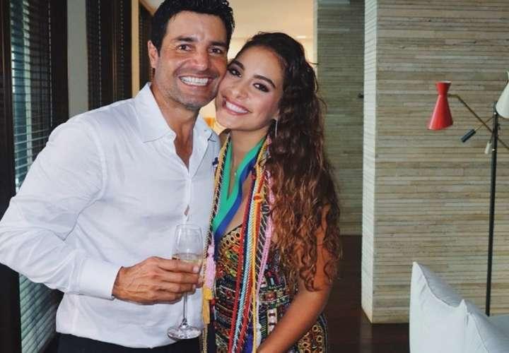 Hija de Chayanne desmiente los rumores sobre la muerte del cantante