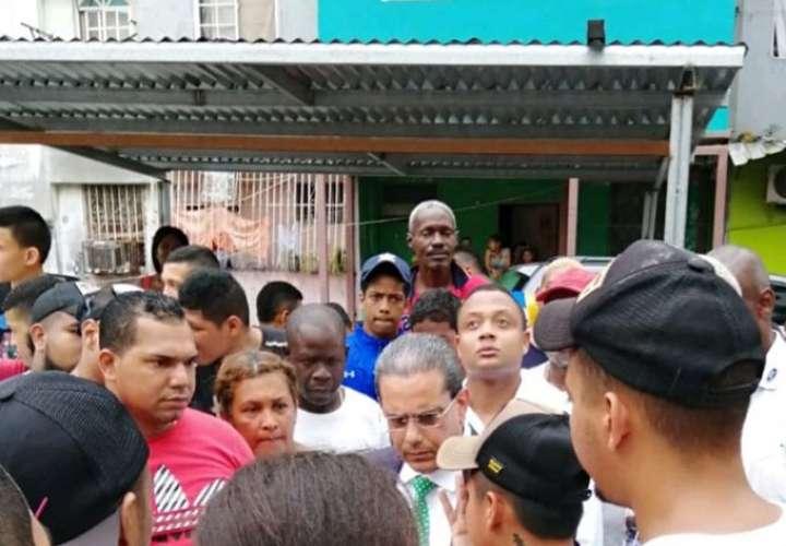 Reclaman viviendas y trabajo en Pueblo Nuevo y El Chorrillo