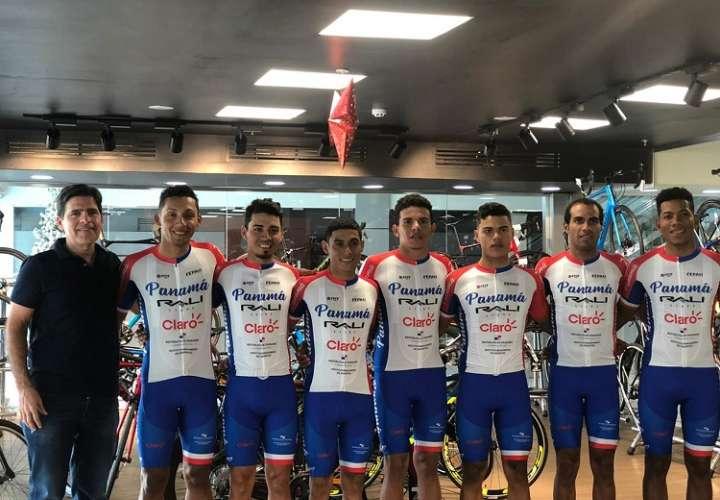 Selección de Ciclismo de Panamá. Foto: Pandeportes