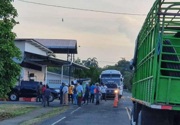 Cierre de vía en Changuinola por aumento de casos de Covid-19
