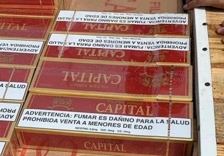 R.Dominicana decomisa contrabando millones de cigarrillos llegados de Panamá