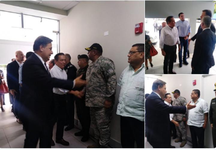 Varela y Cortizo intercambian información en materia de seguridad