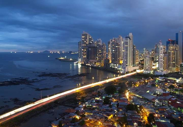 Vista general del área de la bahía de Panamá. Foto: Wikipedia