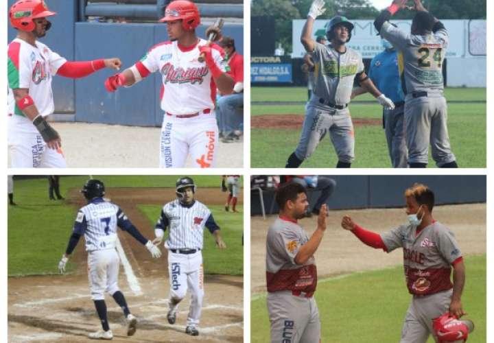 Chiriquí ante Coclé y Bocas ante Metro serán las semifinales del béisbol mayor