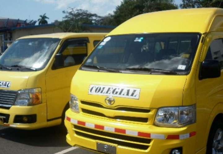 Propietarios de buses colegiales podrían perder sus vehículos