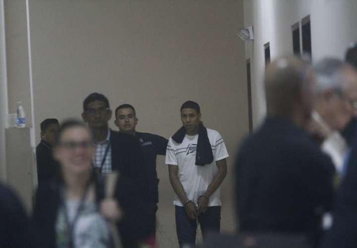 Cristian Aguilar Romero, imputado por el homicidio de Jorge Nash. Foto/ Edwards Santos