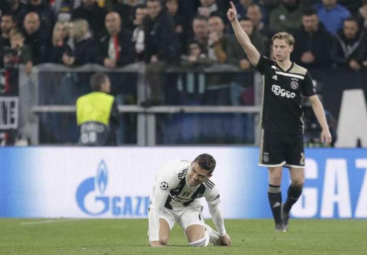 Cristiano Ronaldo y la Juventus quedan eliminados de la Liga de Campeones