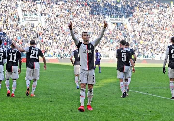 Cristiano Ronaldo, jugador de la Juventus. Foto: EFE