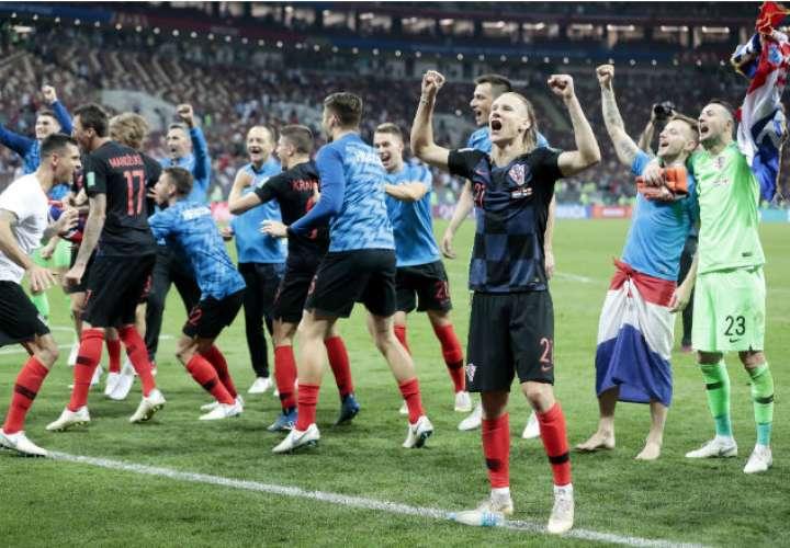 La selección de Croacia ha sorprendido en el Mundial de Rusia 2018. Foto:EFE