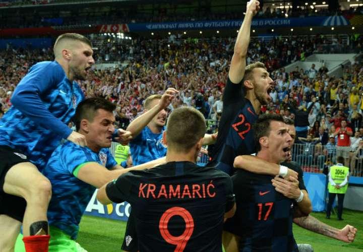 ¡GRANDE! A Croacia no lo venció el cansancio y clasifica a la final del Mundial