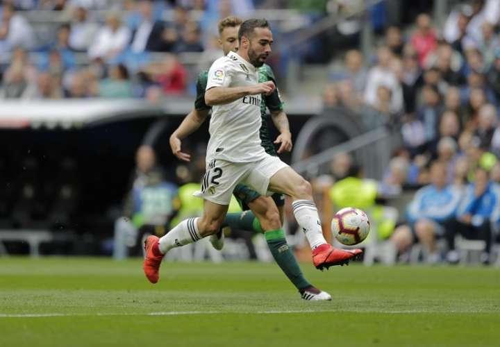Dani Carvajal, defensor del Real Madrid. / Foto: AP