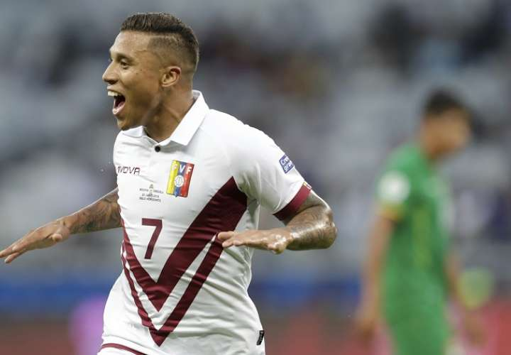 Venezuela elimina a Bolivia y avanza en la Copa América