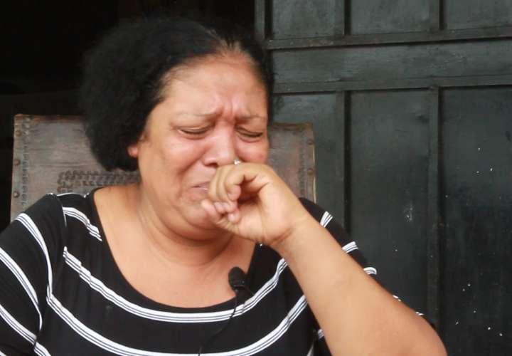 Malfis Vega, madre de Kenia Luque, mujer que perdió la mano en agresión