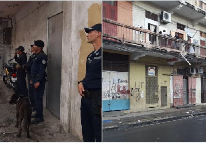 Nueve detenidos en San Miguel y Curundú durante operativo policial