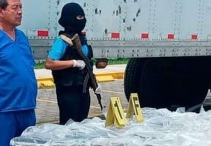 Panameño es capturado en Nicaragua con 77 kilos de cocaína