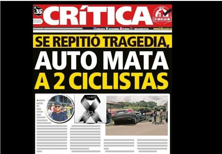 ¡Lamentable! Se repitió tragedia, auto mata a 2 ciclistas