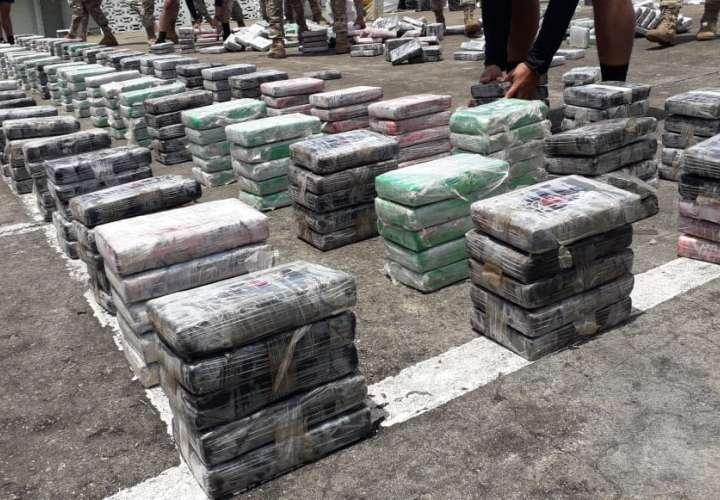 Millonaria incautación de cocaína en Colón [Video]
