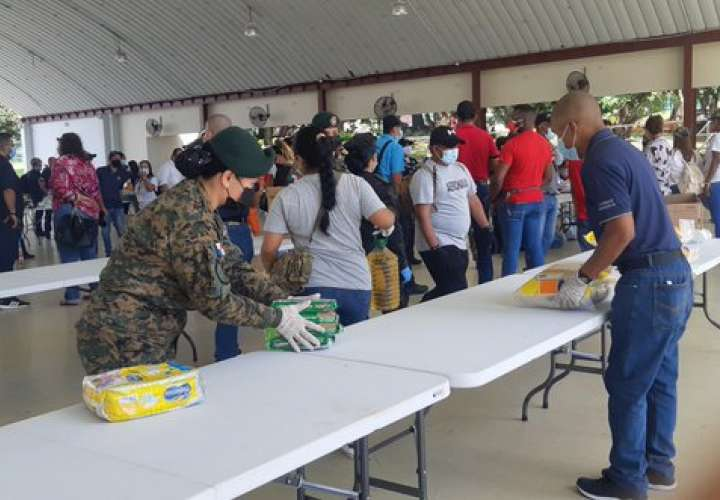 Gran cadena nacional para recolectar ayuda humanitaria para damnificados