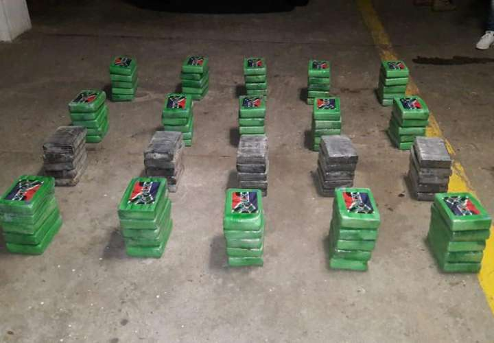 Sacan 119 paquetes de droga en Colón y San Miguelito