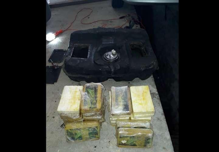 Narcocriollo ocultó la droga en el tanque de combustible, pero no logró pasarla