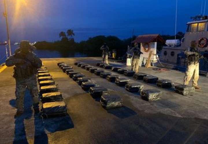 Decomisan 1,055 paquetes de cocaína al Noroeste de Isla Grande [Video]