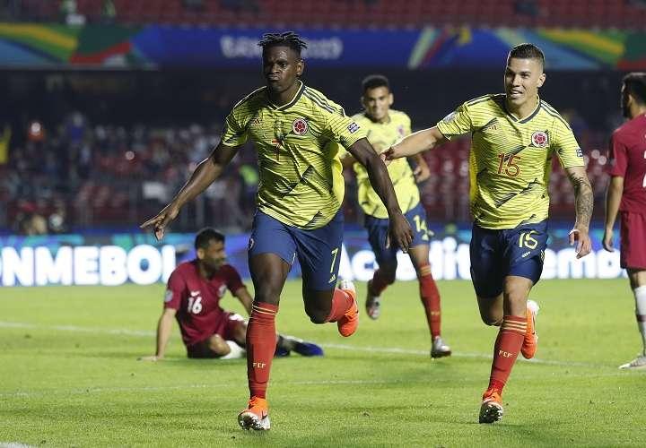 Colombia vence a Catar y se clasifica a cuartos de final de la Copa América