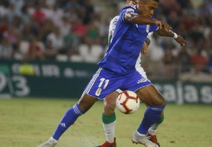 Édgar Bárcenas viene de anotar dos goles y dar una asistencia en su último encuentro. Foto: @RealOviedo