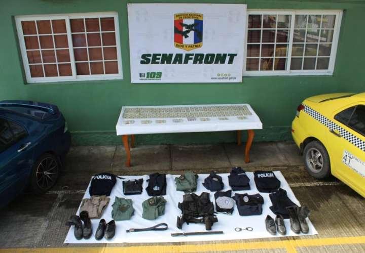 Detienen a dos expolicías por robo en Barú