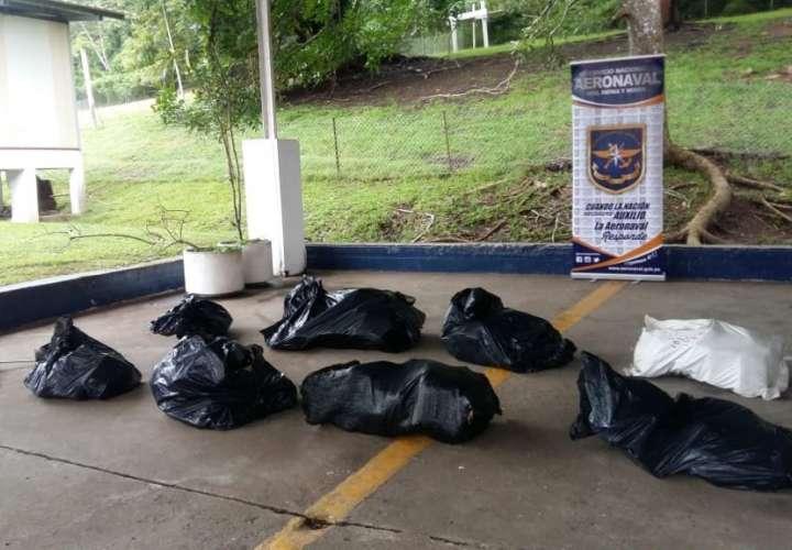 Decomisan 190 paquetes de droga en isla Taboga