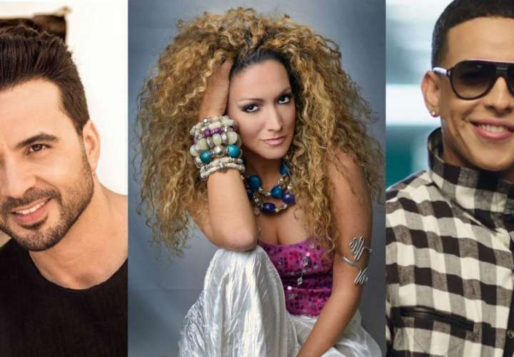 ¡Otra vez! Luis Fonsi olvida a Erika Ender en los Billboards y prende las redes