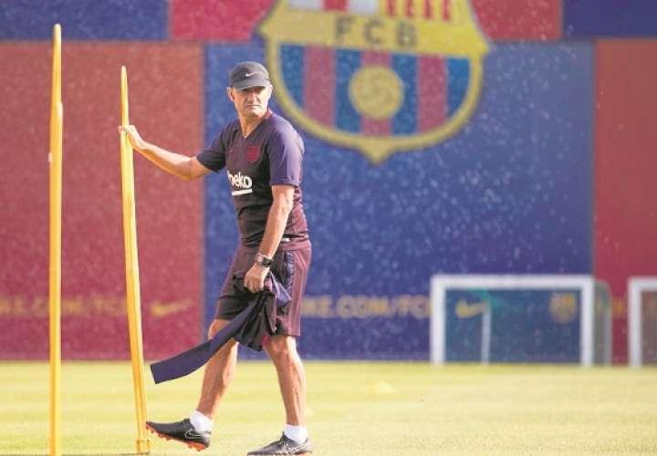 Ernesto Valverde, extécnico del FC Barcelona. /EFE