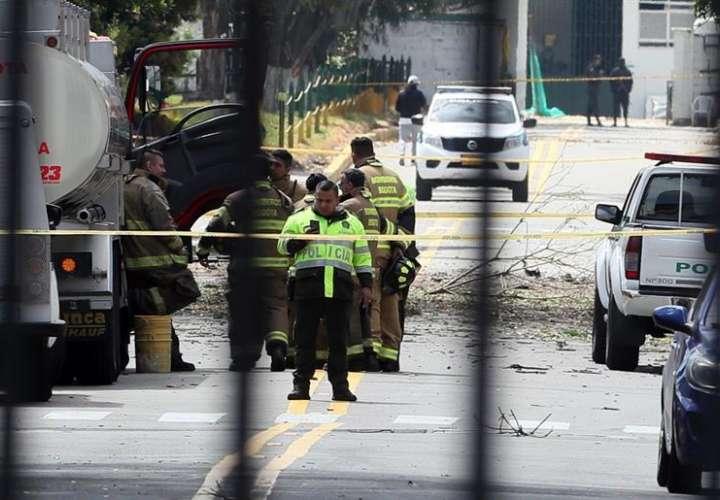"""Según un comunicado de ese ministerio, la explosión """"hasta el momento deja 8 personas muertas y 10 heridos"""". EFE"""