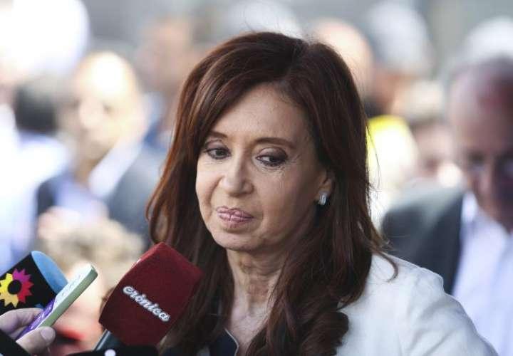 En la imagen, la expresidenta argentina Cristina Fernández (2007-2015). EFEArchivo