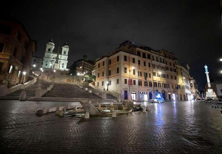 Enfrentamientos en Nápoles por la aplicación del toque de queda