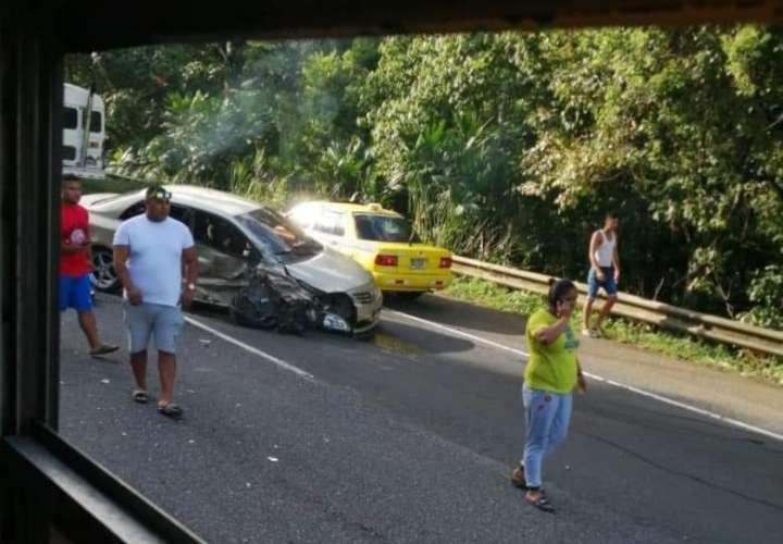 Accidente de tránsito le quita la vida a una niña
