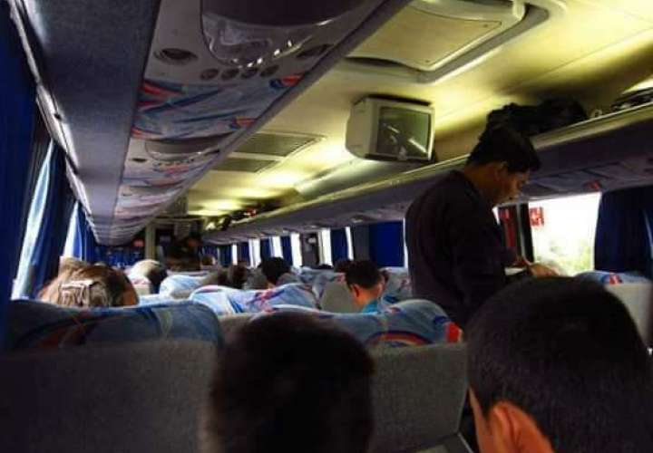 Poco a poco se reactiva servicio de transporte público en Colón