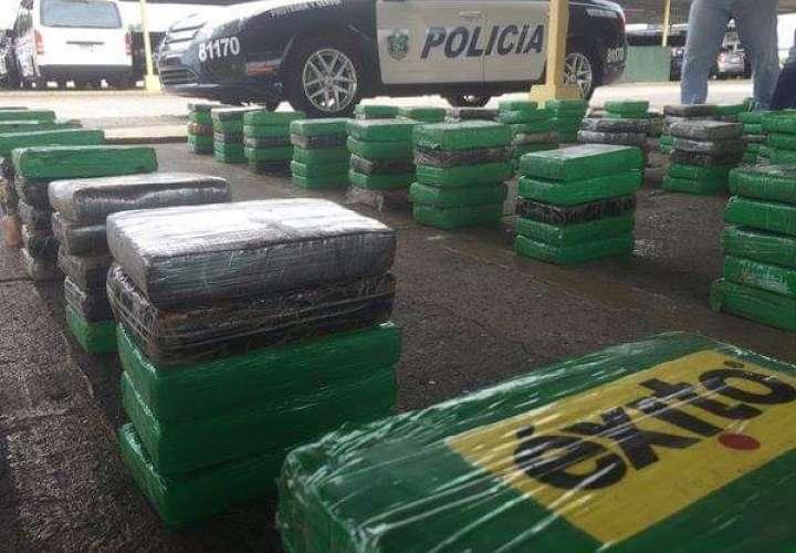 Confiscan 5 toneladas de cocaína  en cuatro meses
