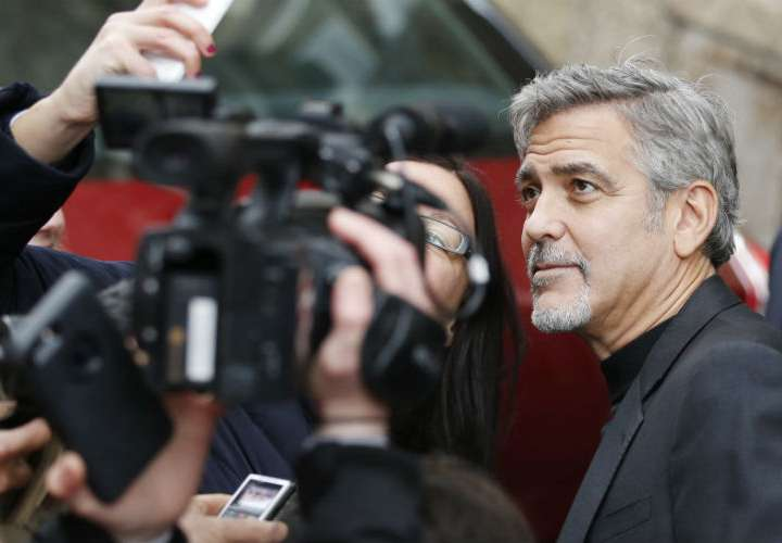 George Clooney en el hospital tras accidente de moto