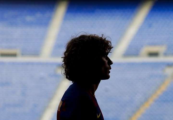 """Griezmann se dirigió a los seguidores azulgranas, al asegurar que habrá diversión """"dentro y fuera del campo"""". Foto: AP"""
