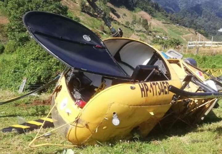 Cae helicóptero en Chiriquí que piloteaba empresario Enrique Athanasiadis