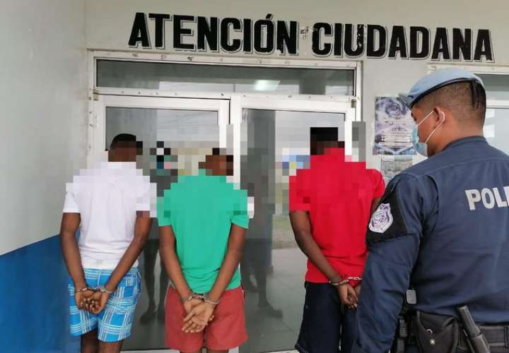 Detienen a 4 hombres por casos de homicidios en Colón