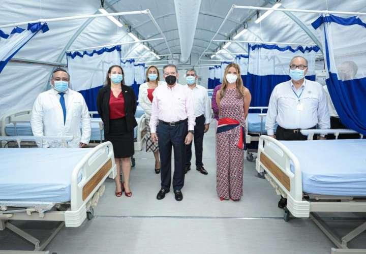 Nito recibe hospital de campaña donado por Embajada de Canadá