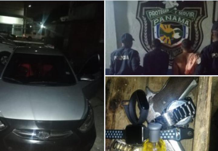 Recuperan auto, relojes y dos detenidos por robo en Calidonia