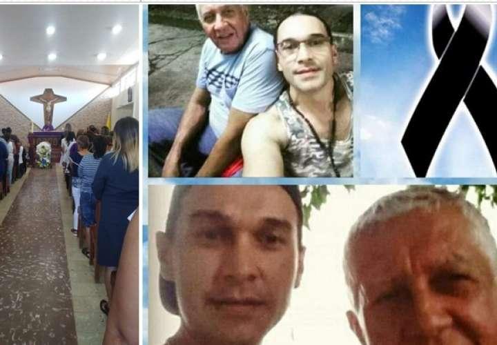 Honras fúnebres de comerciante asesinado en Juan Díaz