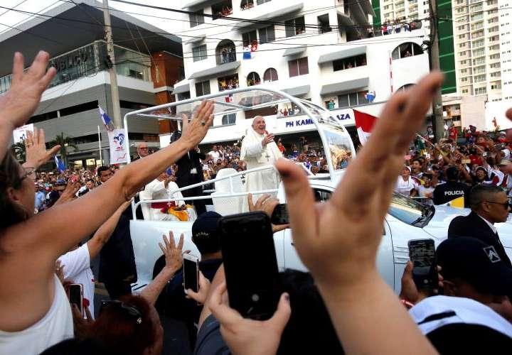 ¡El papa Francisco electrizó a Panamá!