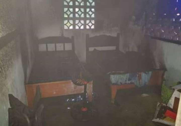 Incendio consume vivienda en Tolé