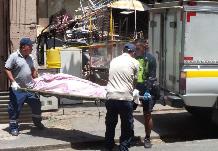 'Chamo' muere dentro de un viejo caserón en Santa Ana